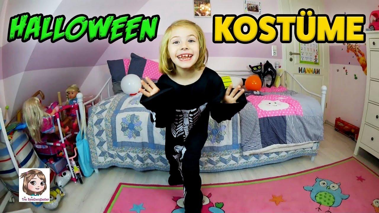 Halloween Kostüme Für Kinder Gruseliges Skelett Oder Gespenst Für