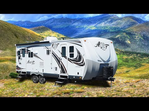 Simple Quick Tour Of The Arctic Fox 25W Travel Trailer | Doovi