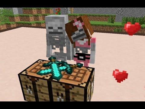 Monster School: Girls vs Boys Crafting Challenge - Minecraft Animation