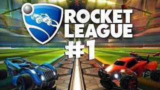 Спонтанные забеги ● Rocket League #1