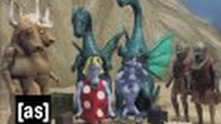Late Unicorns | Robot Chicken | Adult Swim