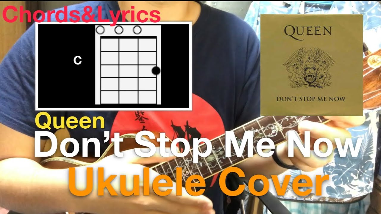 Don't Stop Me Now (Queen) ukulele cover
