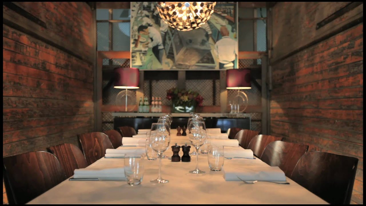 Otto Ristorante   Private Dining Room   YouTube