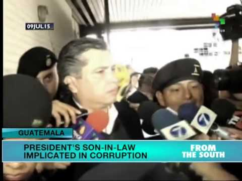 Guatemala: President's Son-in-Law Implicated in Corruption