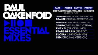 Paul Oakenfold Essential Mix: December 18, 1994 Part 1
