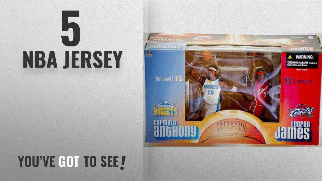20fe9108c Top 10 NBA Jersey [2018]: NBA Special Edition Carmelo Anthony & Lebron  James Deluxe Box Set