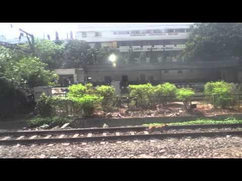 Thane to LTT train journey on Coimbatore LTT express