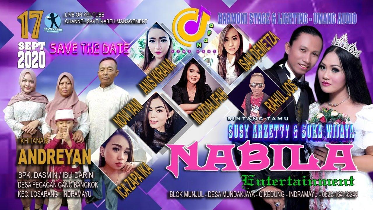 LIVE MUSIC - NABILA ENTERTAINMENT - SHOW PEGAGAN - 17 SEPT 2020 - SIANG