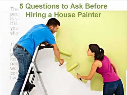 5 Questions to Ask Before Hiring a House Painter