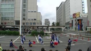 三重県津市で10月8.9日で開催された第19回安濃津よさこい2日目津...