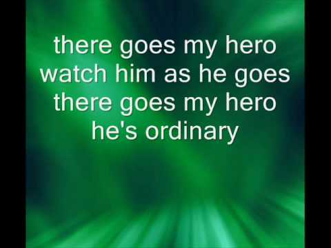 my hero foo fighters lyrics