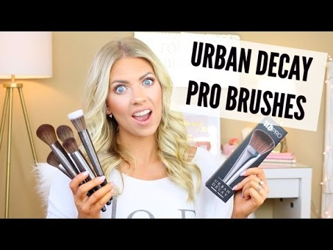 Urban Decay PRO Brushes Full Collection | Unboxing | Vlogtober Day 11