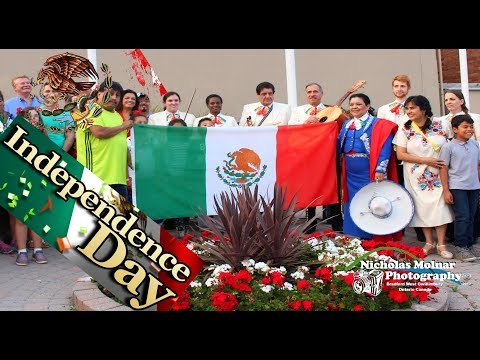 Mexican Independence Day Flag Raising #BWG #TLG