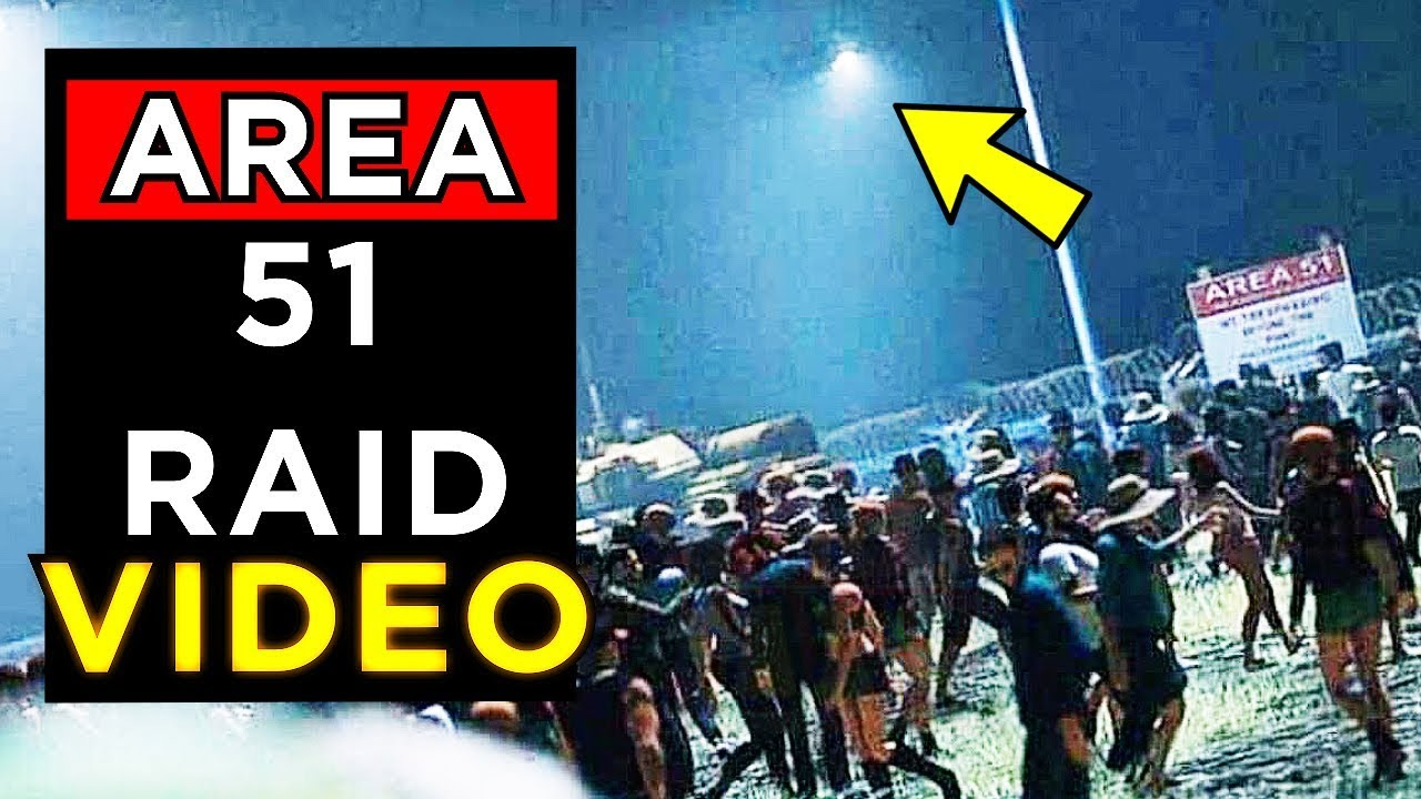 Area 51 Raid Live