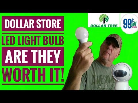 Dollar Store LED Light Bulbs Are The Worth It