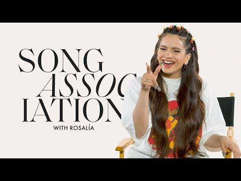 """ROSALÍA Sings Shakira, Ozuna, and """"Malamente"""" in a Game of Song Association 