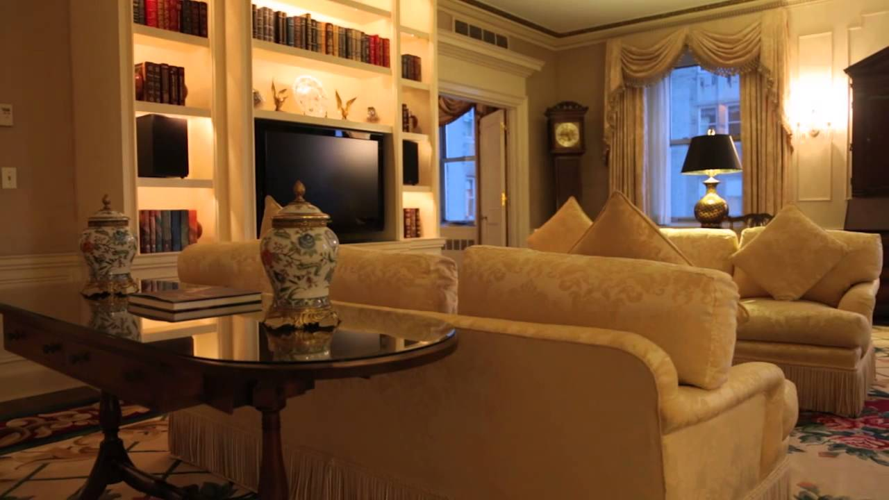 Waldorf astoria new york presidential suite youtube for Presidential suite waldorf astoria