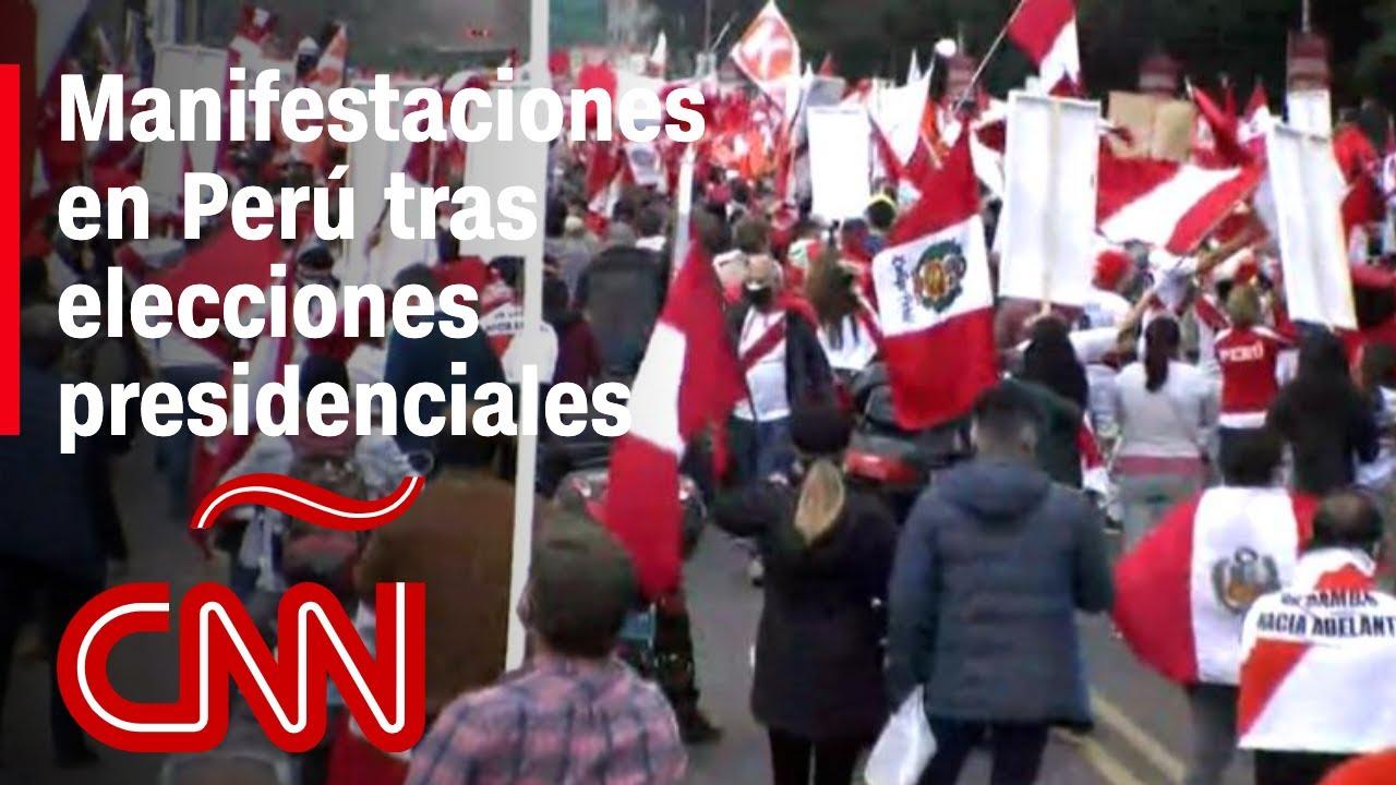 Keiko Fujimori y Pedro Castillo piden anulación de mesas de votación en elecciones presidenciales