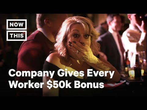 Company Surprises Employees With $10M In Holiday Bonuses | NowThis
