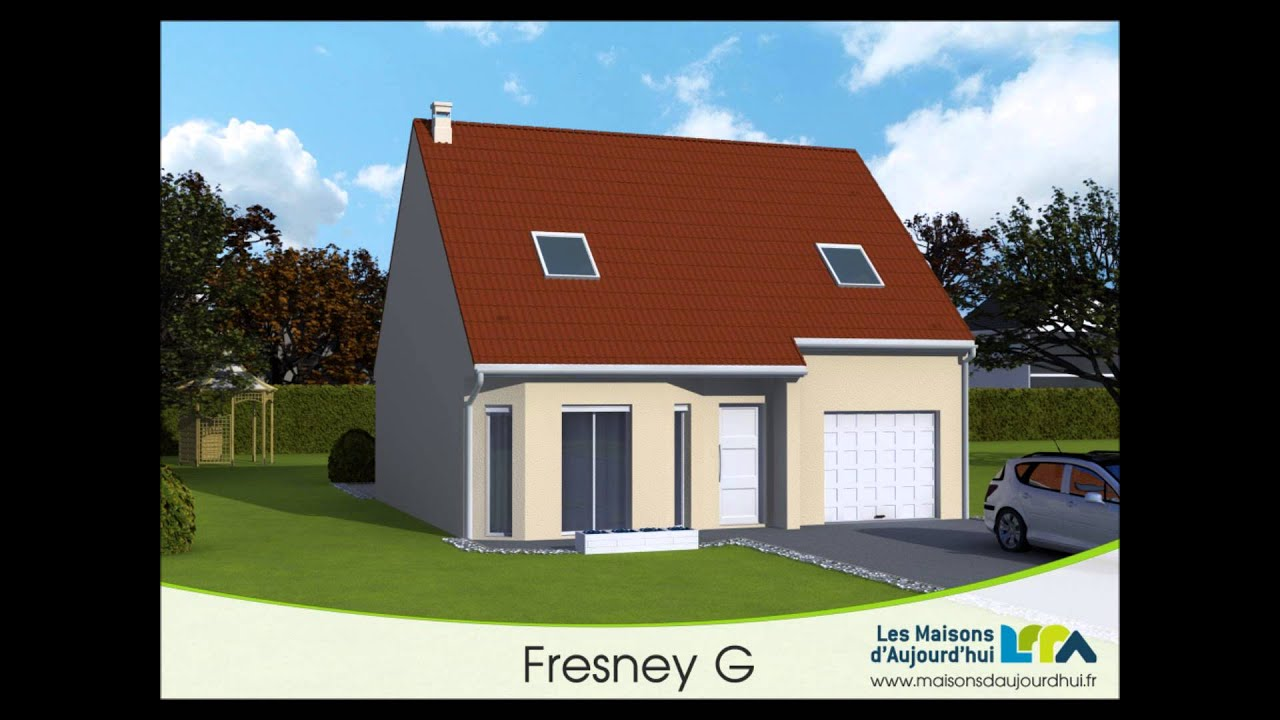 Plan de maison traditionnelle bbc garage int gr fresney - Plan de maison traditionnelle ...