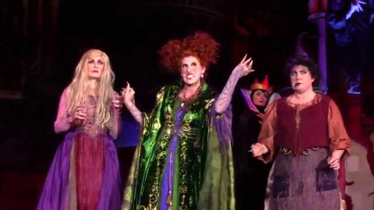 full show hocus pocus villain spelltacular at mickey's not so scary
