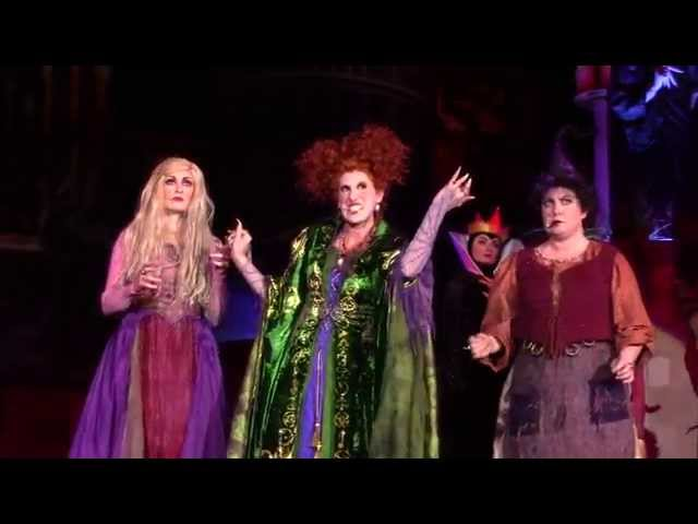 FULL Show Hocus Pocus Villain Spelltacular at Mickey's Not So Scary Halloween Party at Magic Kingdom