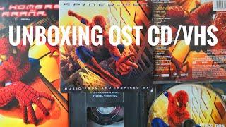 Unboxing #Spiderman Soundtrack Movie CD/VHS #StanLee