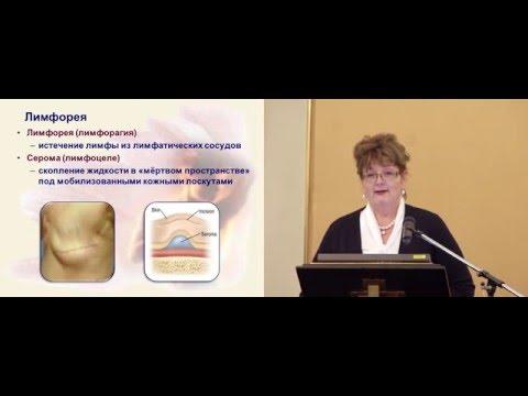 Лимфорея после радикальных операций на молочной железе: факторы риска и меры профилактики