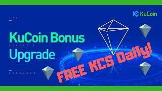 Kucoin Bonus Plan Renewed - Get Free Kucoin Shares Daily!