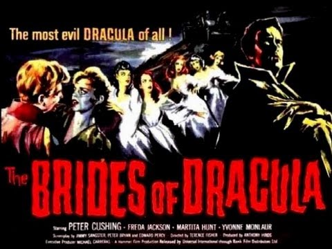 Hammer Horror Film Reviews - The Brides of Dracula (1960)