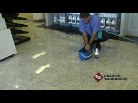 Cleaning Granite, Marble, Engineered Stone or other tiled floors ...