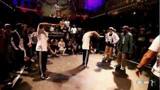 Final Popping; Juste Debout Amsterdam 2013