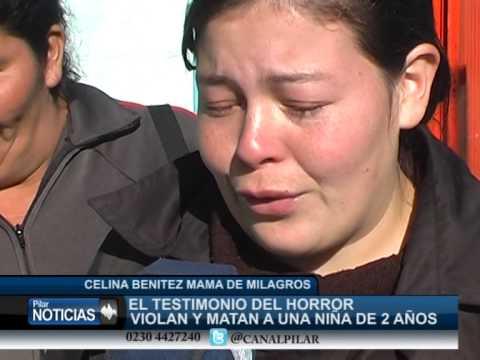 CELINA MADRE DE LA NIÑA DE 2 AÑOS VIOLADA Y ASESINADA MAMA DE LA NIÑA VIOLADA Y ASESINADA EN DERQUI