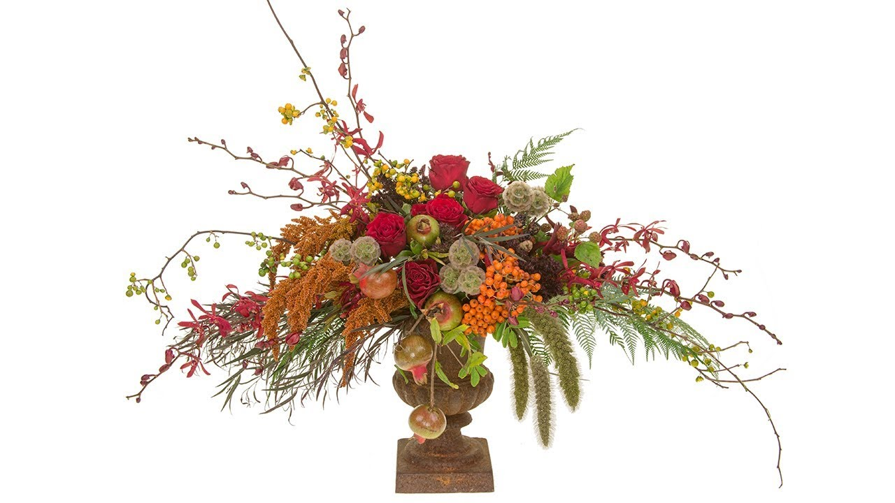 Classic Flemish Floral Design Youtube