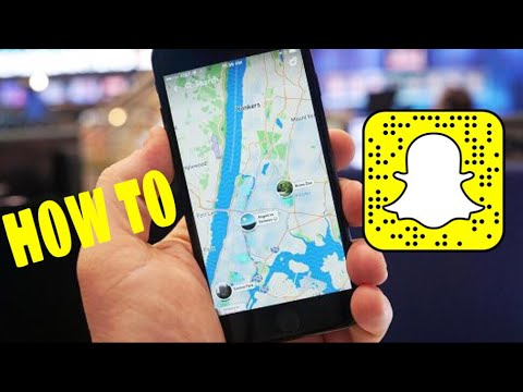 HOW TO USE MAPS ON SNAPCHAT 2017 - YouTube