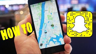 HOW TO USE MAPS ON SNAPCHAT 2017