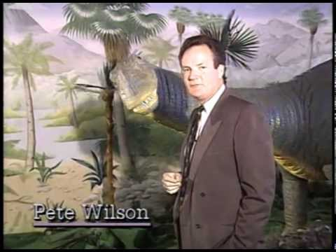 KGO TERROR AND THUNDER Dinosaur Special! Pete Wilson Hosts