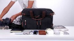 a0534aca9c ZUO LUN DUO กระเป๋าถือ กระเป๋าสะพายไหล่ กระเป๋าเป้ กระเป๋าทำงาน Trendy  Canvas Bag รุ่น 8691 - Duration  0 46.