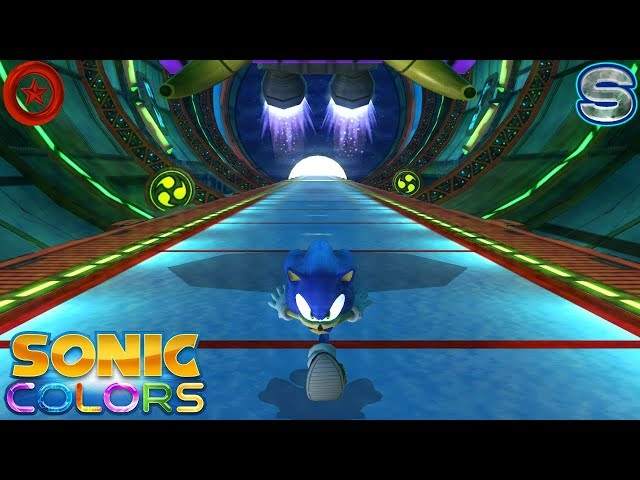 Sonic Colors (Wii) [4K] - Aquarium Park Act 1-6 (All Red Rings + S-Ranks)