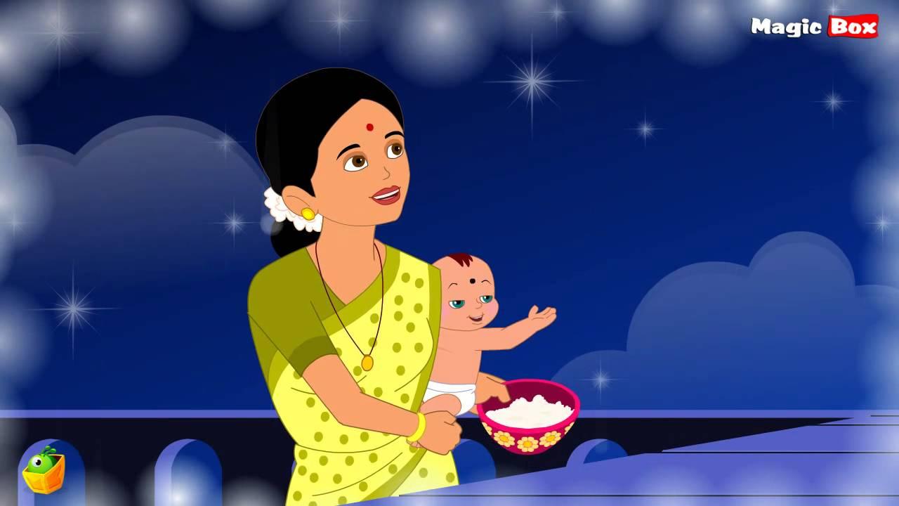 Chandamama Raave Telugu Nursery Rhymes Cartoon And