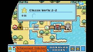 Super Mario Advance 4 - Super Mario Bros 3 (E-World Hack) (Gameboy Advance) - Longplay
