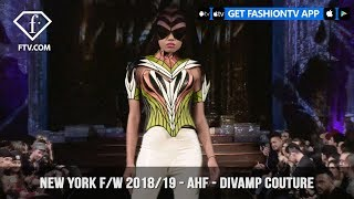 New York Fashion Week Fall/Winter 18 19 - Art Hearts Fashion - Divamp Couture | FashionTV | FTV