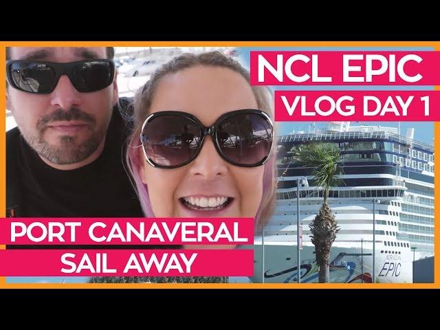 Bye Bye Orlando | Norwegian Epic Cruise Vlog Day 01