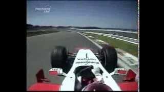 F1 Nurburgring 2005 Jarno Trulli Toyota TF106