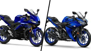 New vs Old Yamaha R3 |2019 R3 vs 2018 R3 Comparison