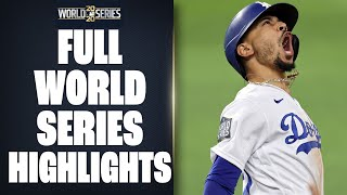 Dodgers, Rays battle it out for 6 games in 2020 World Series | Full World Series Highlights + Recap