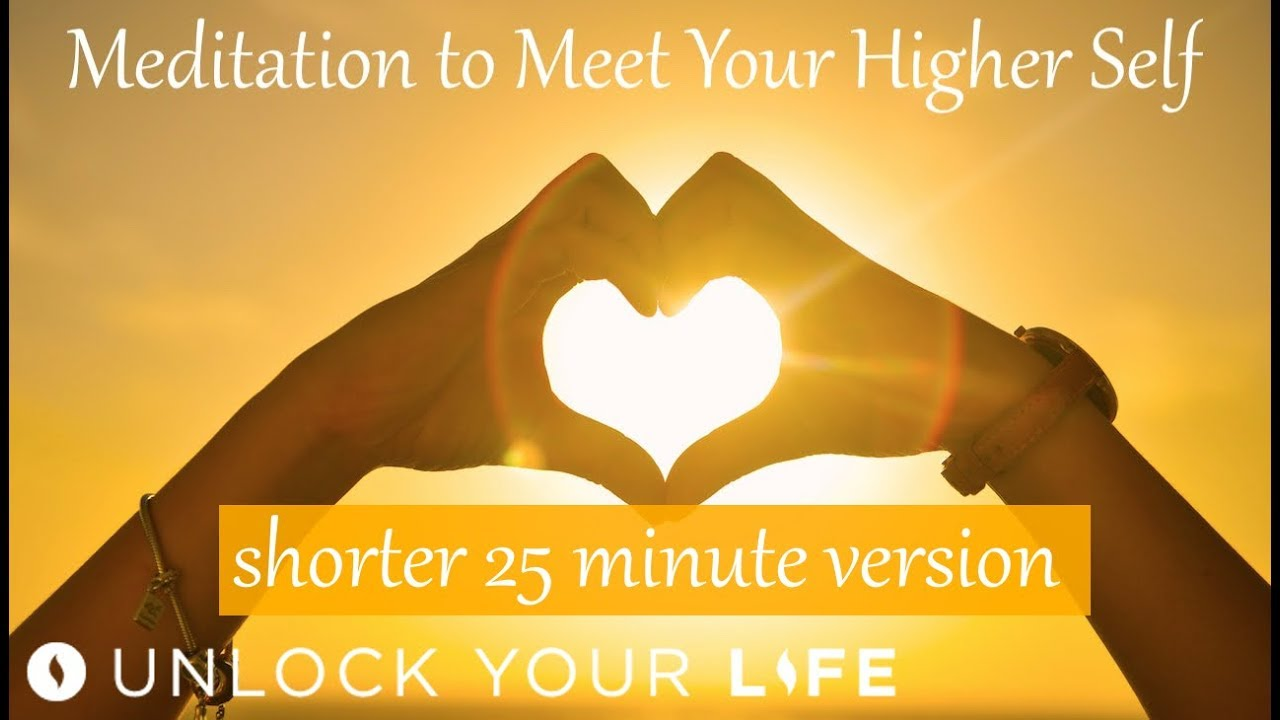 Shorter Version Meditation to Meet Your Higher Self - YouTube