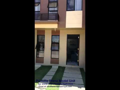 Portville Prime Model Unit Video... Townhouse for Sale at Lapulapu City, Cebu ... please visit our w
