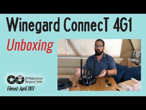 Winegard ConnecT 4G1 - Product Unboxing