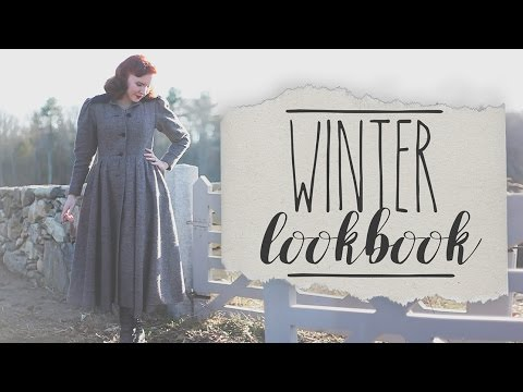 Vintage Winter Lookbook!